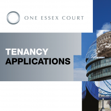 One Essex Court invites applications for tenancy from outstanding junior barristers